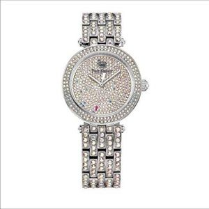 Juicy Couture Cali Crystal Covered Bracelet Watch
